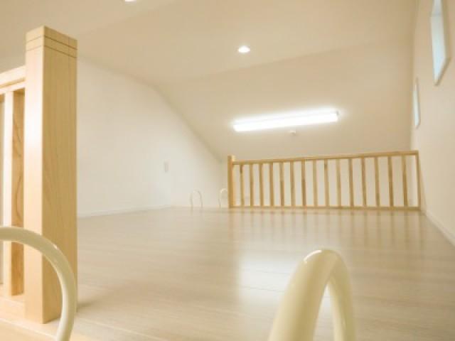 子供部屋のロフトが楽しい充実収納の家