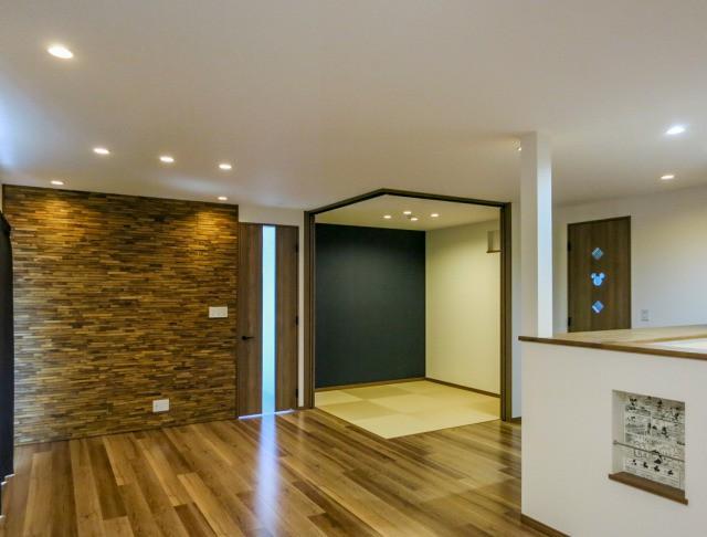先進設備と豊富な収納の子育て住宅