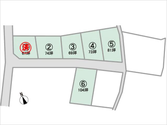 【新規分譲地】Fステージ山梨市小原西 全6区画