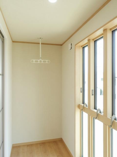 家事楽と防犯性を追求した快適住宅