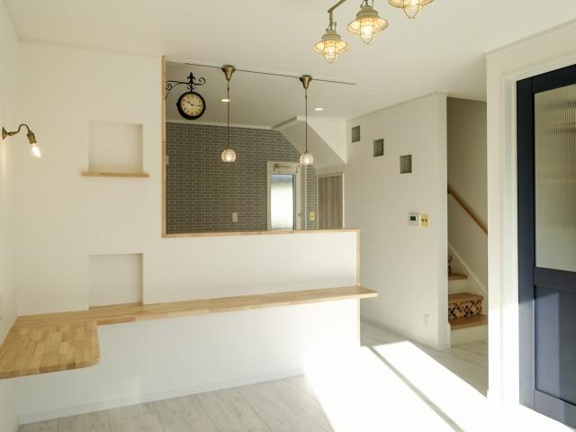 家事楽を追求した2階バスルームの家