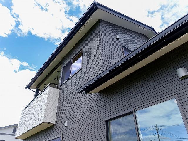 笛吹市石和町 シンプル間取りの高機能住宅
