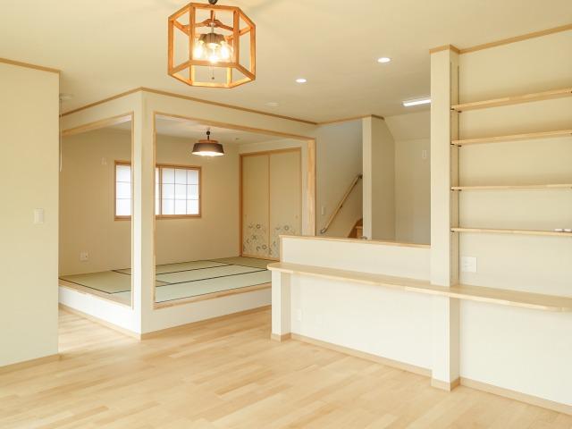 自然素材をふんだんに使用した 健やかな木の家