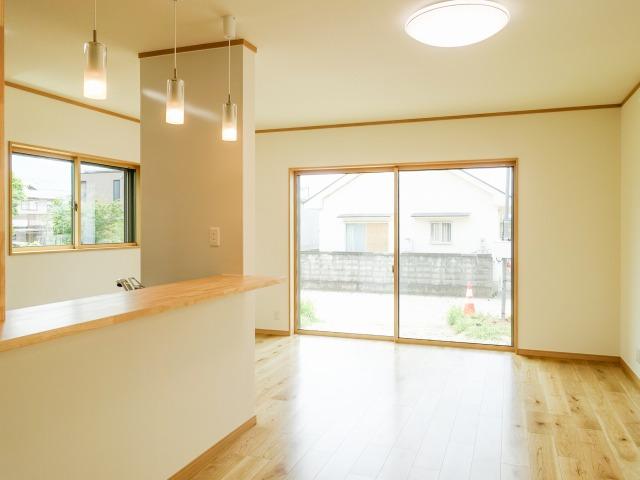 収納充実でコンパクトな生活優先住宅