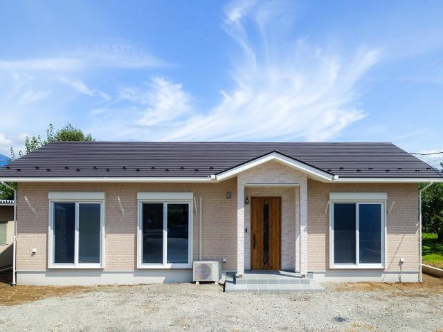 防犯性能と広々間取に特化したゆとりの平屋住宅